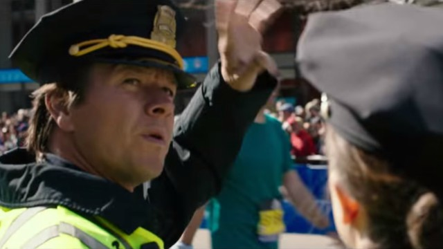 """Mark Wahlberg in """"Patriots Day"""""""