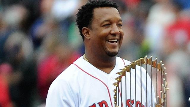 Boston Red Sox former pitcher Pedro Martinez