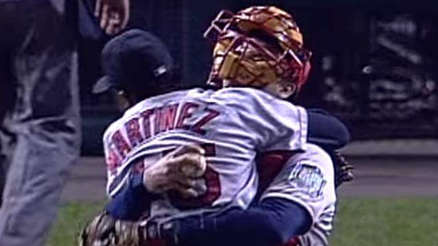 Boston Red Sox pitcher Pedro Martinez