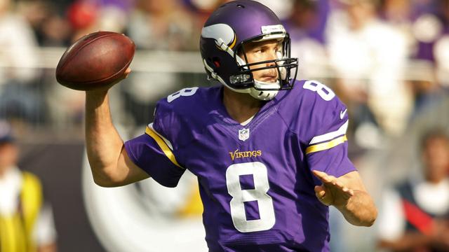 Minnesota Vikings quarterback Sam Bradford