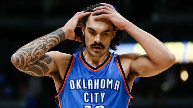 Oklahoma City Thunder center Steven Adams