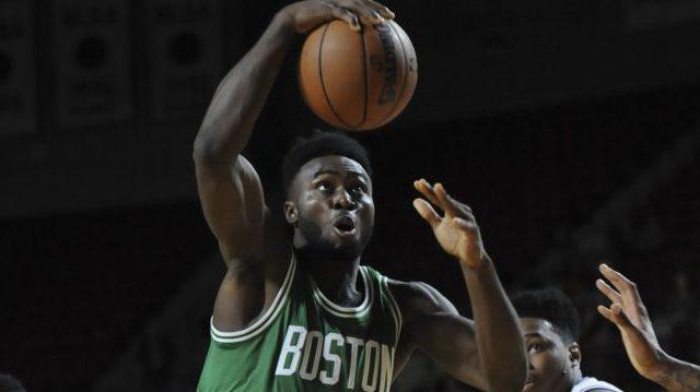 Boston Celtics forward Jaylen Brown