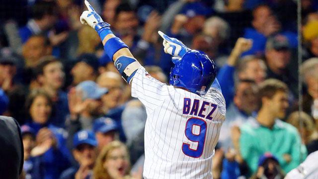Chicago Cubs second baseman Javier Baez