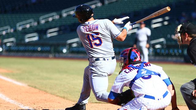 New York Mets prospect Tim Tebow