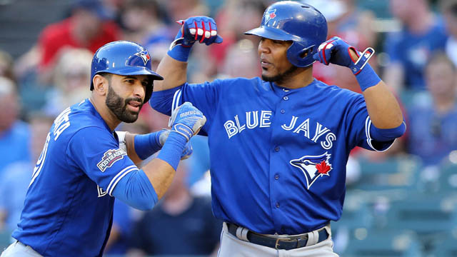 Blue Jays designated hitter Edwin Encarnacion