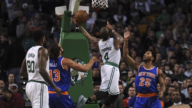 Boston Celtics guard Isaiah Thomas