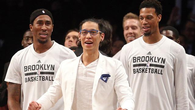 Nets guard Jeremy Lin
