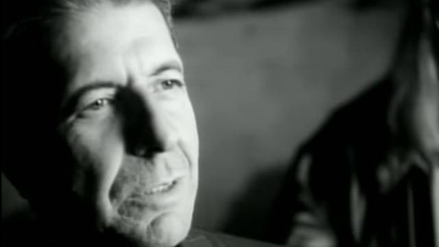 Singer Leonard Cohen
