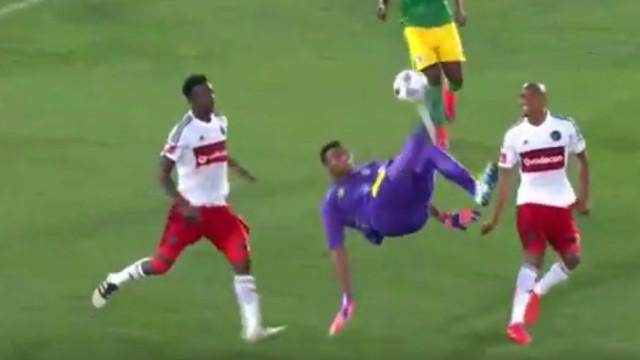 Baroka FC goalkeeper Oscarine Masuluke