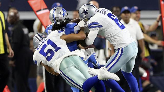 Dallas Cowboys punter Chris Jones