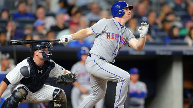 New York Mets right fielder Jay Bruce