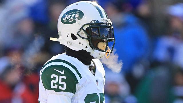 Jets running back Joe McKnight