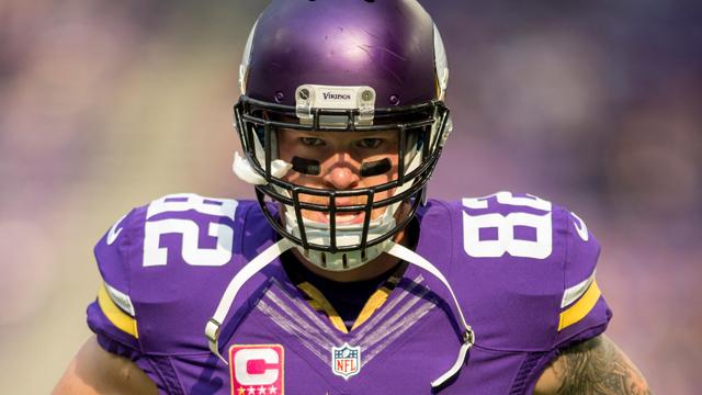 Minnesota Vikings tight end Kyle Rudolph
