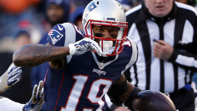 New England Patriots wide receiver Malcolm Mitchell