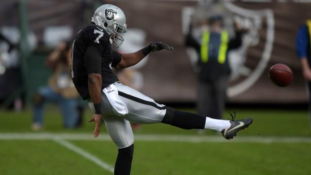 Raiders punter Marquette King