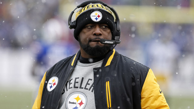 Pittsburgh Steelers head coach Mike Tomlin
