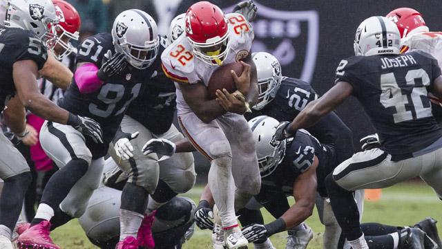 Kansas City Chiefs running back Spencer Ware