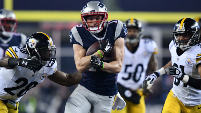 New England Patriots wide receiver Chris Hogan