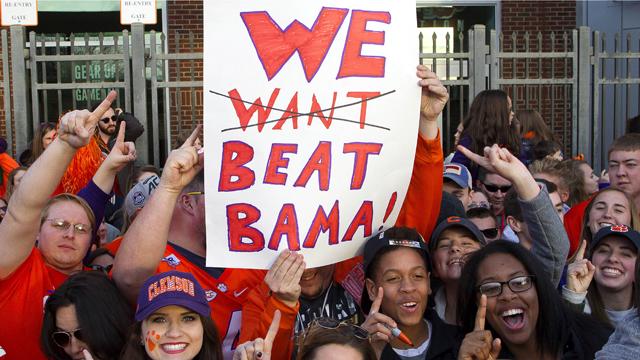 Clemson Tigers fans