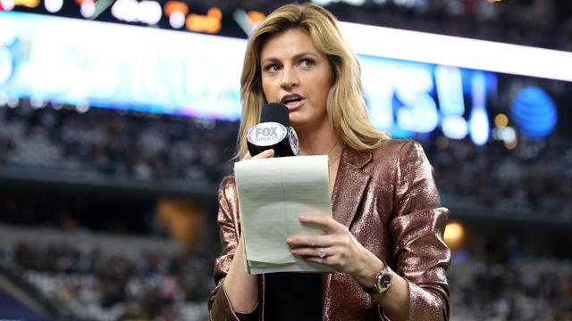 Fox Sports reporter Erin Andrews