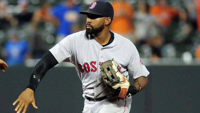 Red Sox outfielder Jackie Bradley Jr.