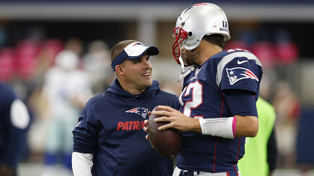 Josh McDaniels, Tom Brady