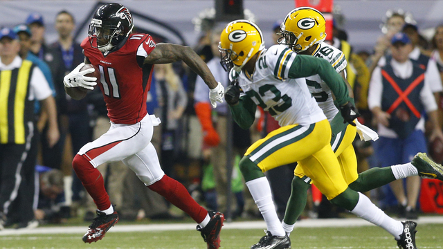 Falcons wide receiver Julio Jones