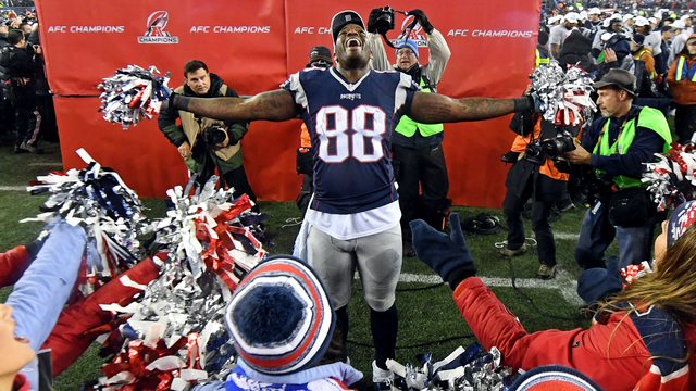 Patriots tight end Martellus Bennett