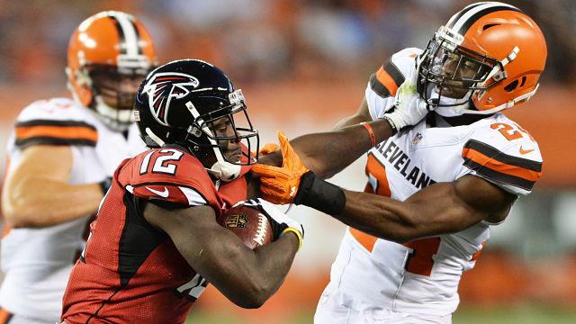 Atlanta Falcons receiver Mohamed Sanu