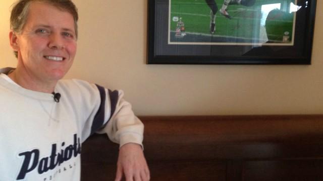 Patriots fan Brady Goodell