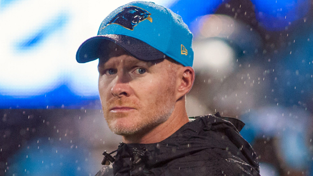Carolina Panthers defensive coordinator Sean McDermott