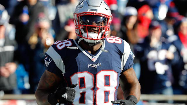 New England Patriots tight end Martellus Bennett