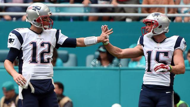 Tom Brady, Chris Hogan
