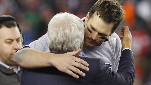 Robert Kraft, Tom Brady