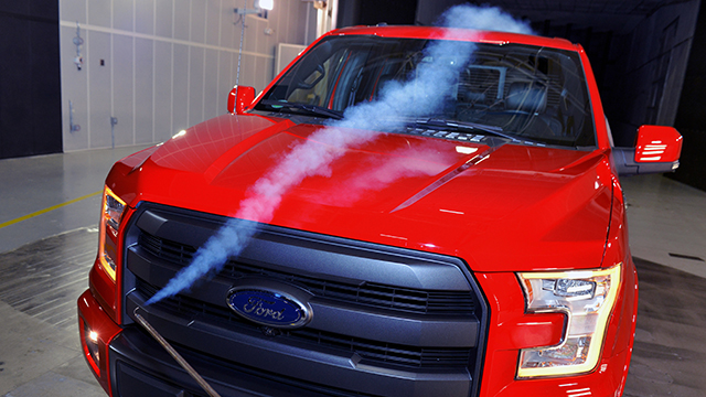 2015 Ford F-150, Ford Wind Tunnel Complex