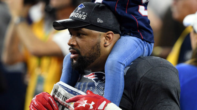 New England Patriots defensive end Alan Branch