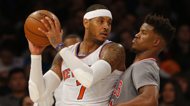 Carmelo Anthony, Jimmy Butler