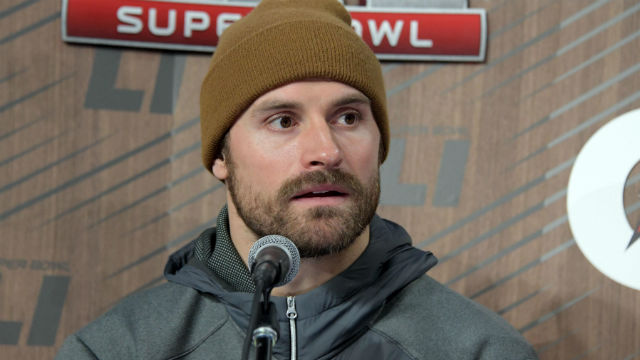 New England Patriots defensive end Chris Long