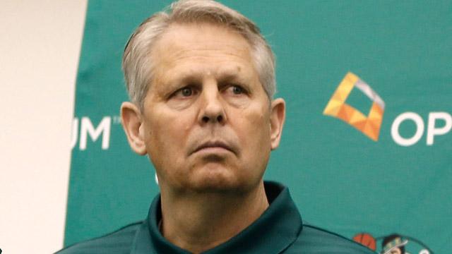Celtics president of basketball operations Danny Ainge