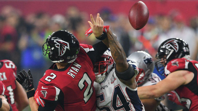 New England Patriots middle linebacker Dont'a Hightower