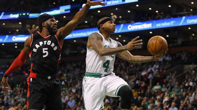 Celtics guard Isaiah Thomas