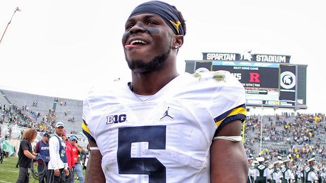 Michigan safety Jabrill Peppers