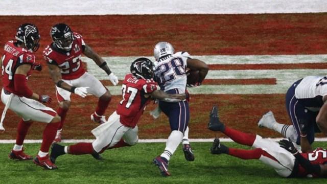 James White's Super Bowl-winning touchdown