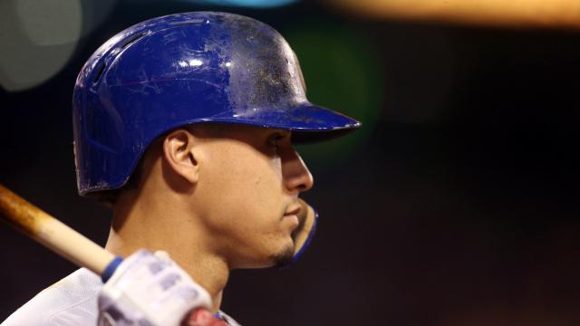 Chicago Cubs infielder Javier Baez
