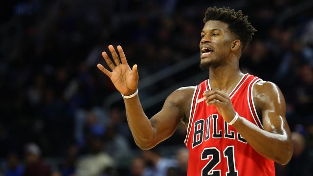 Chicago Bulls star Jimmy Butler