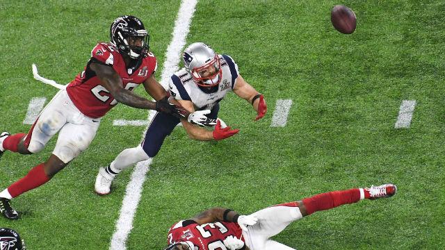 New England Patriots wide receiver Julian Edelman