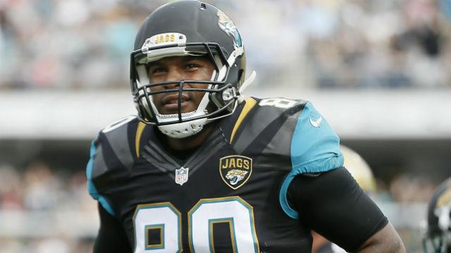 Jacksonville Jaguars tight end Julius Thomas