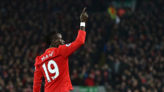 Liverpool FC forward Sadio Mane