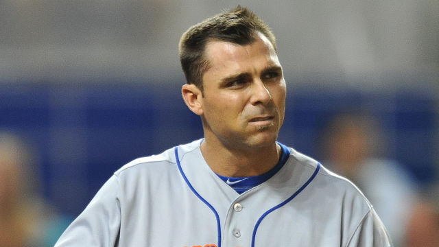 New York Mets outfielder Rick Ankiel