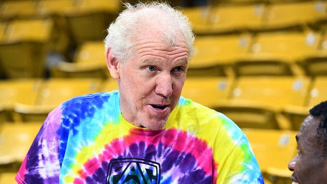 ESPN analyst Bill Walton